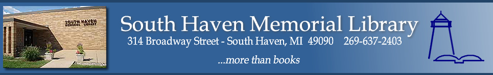 South Haven Memorial Library Website
